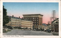 East Market Square Postcard