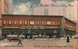 Joe's Restaurant Postcard