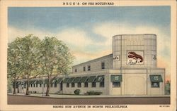 Beck's on the Boulevard Postcard