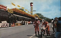 Motor Cycle Racing - Stadium Postcard