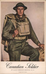 Canadian Soldier Postcard