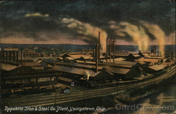 Republic Iron & Steel Co. Plant Youngstown Ohio