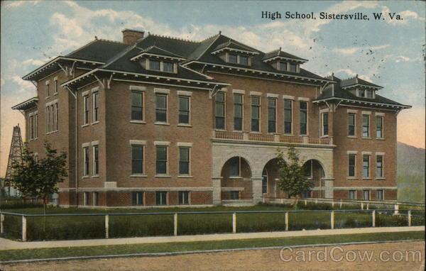 High School Sistersville West Virginia