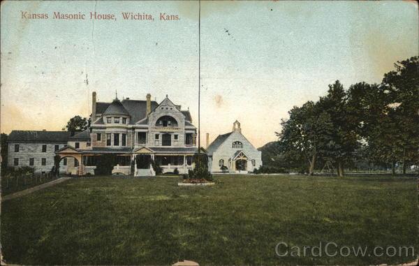 Kansas Masonic House Wichita