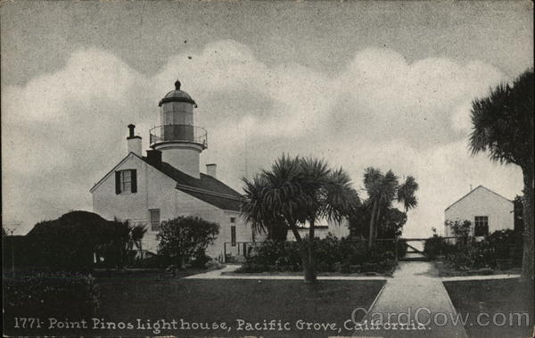 1771-Point Pinos Lighthouse Pacific Grove California