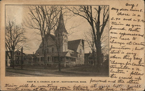 First M.E. Church, Elm St. Northampton Massachusetts