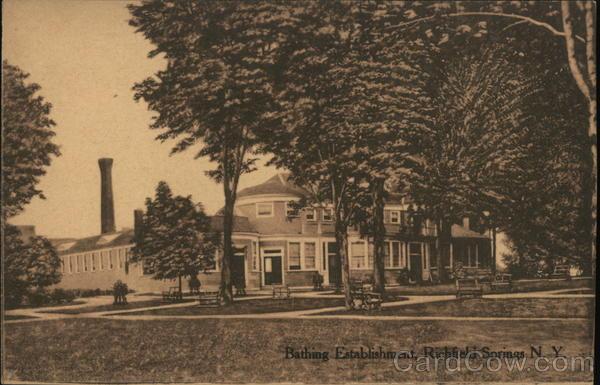 Bathing Establishment Richfield Springs New York