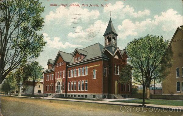 High School Port Jervis New York