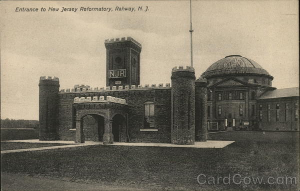 Entrance to New Jersey Reformatory Rahway