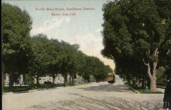 North Main Street Santa Ana California