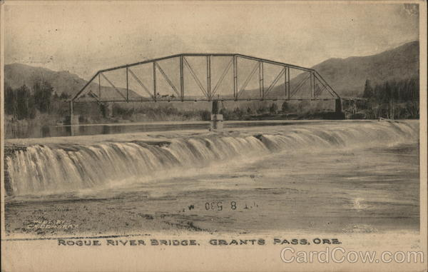 Rogue River Bridge Grants Pass Oregon