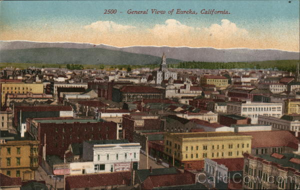 2500 - General View of Eureka California