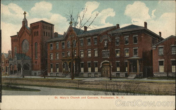 St. Mary's Church and Convent Rochester New York