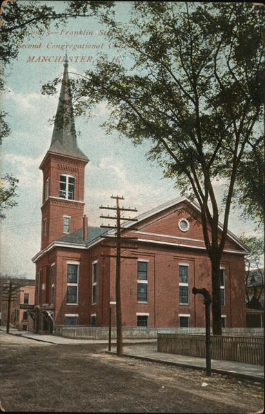 Second Congregational Church Manchester New Hampshire