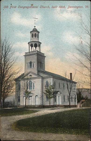 First Congregational Church Bennington Vermont