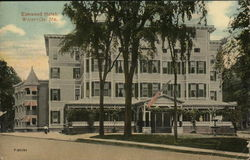 Elmwood Hotel, With Entryway And Park