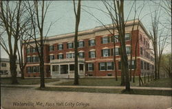 Foss Hall, Colby College