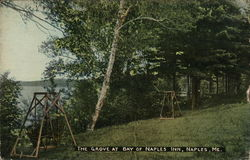 The Grove at Bay of Naples Inn Postcard
