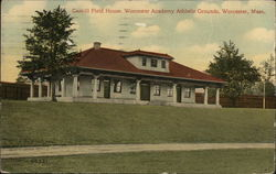 Gaskill Field House, Worcester Academy Athletic Grounds