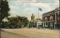 Washington Sq., Showing Oxford Club on Right