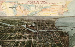 Map of Manitowoc