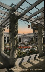Bit of Venetian Roof Garden, H.C. Capwell Co.