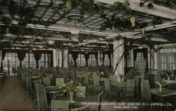 Tea Room Adjoining Roof Garden, H.C. Capwell Co.