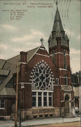Central Presbyterian Church Maysville, KY Postcard
