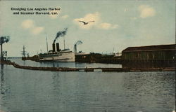 Dredging Los Angeles Harbor at Steamer Harvard