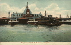 Ferry House of the C.R.R. of N.J.