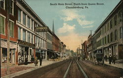 South Main Street North from Queen Street