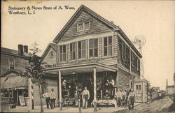Stationary & News Store of A. Wass