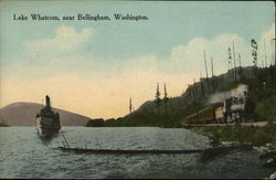 Lake Whatcom, near Bellingham