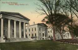 Five Front Buildings, Sailors Snug Harbor