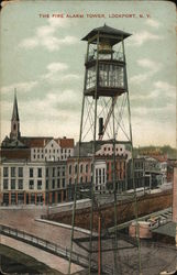 Fire Alarm Tower Postcard