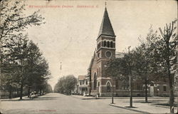Methodist Episcopal Church Greenville, OH Postcard