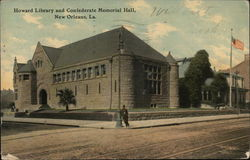 Howard Library and Confederate Memorial Hall