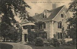 Residence of Mrs. Orville H. Platt