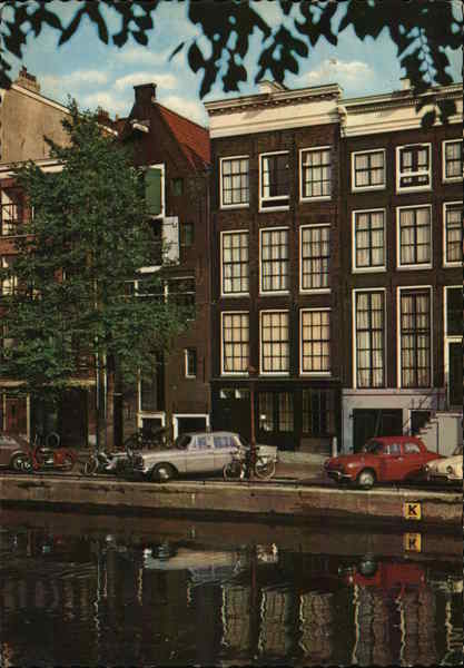 Anne Frank House Amsterdam Netherlands Benelux Countries