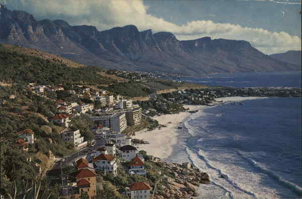 View of Town, Hills and Ocean Clifton South Africa