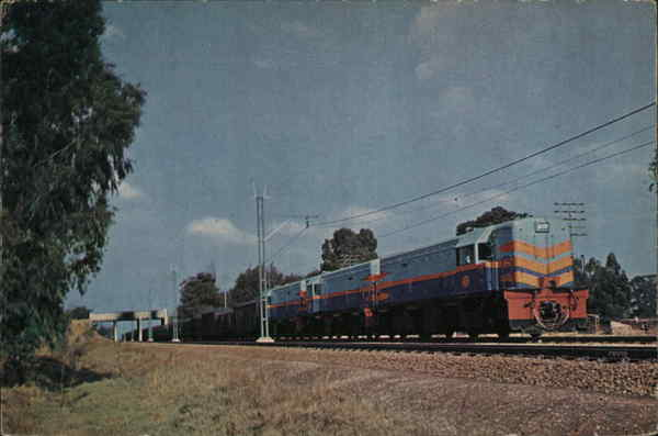 S.A.R. Diesel Locomotives South Africa