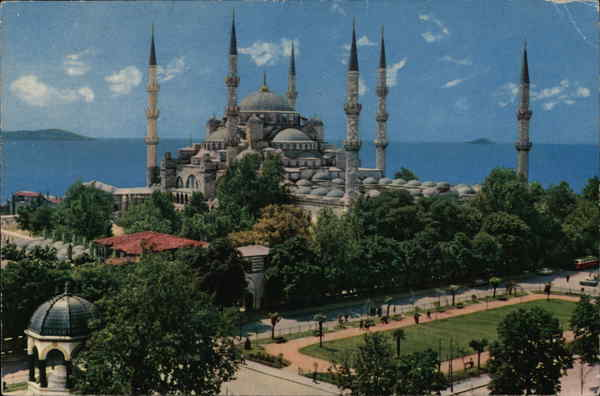 The Blue Mosque, Sultanahmet Mosque Istanbul Turkey