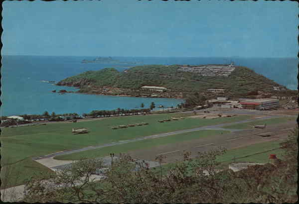 Harry S. Truman Airport St. Thomas Virgin Islands Caribbean Islands