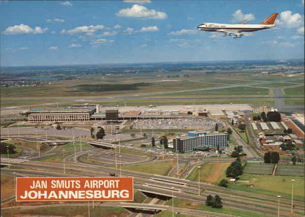 Jan Smuts Airport Johannesburg South Africa Airports