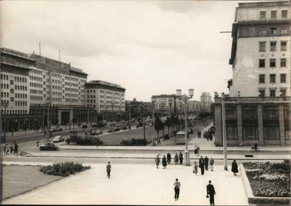 Stalinallee Berlin Germany