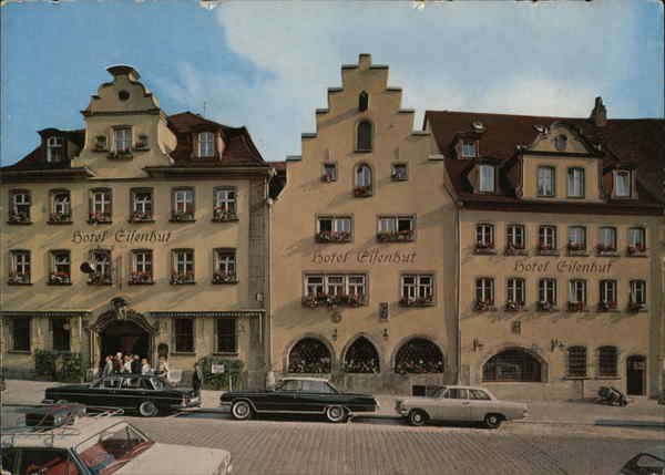 Hotel Eisenhut - Georg Pirner Rothenburg ob der Tauber Germany