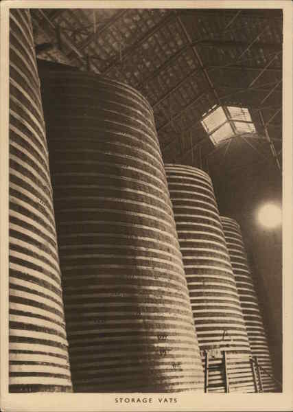 Guinness Brewery Storage Vats