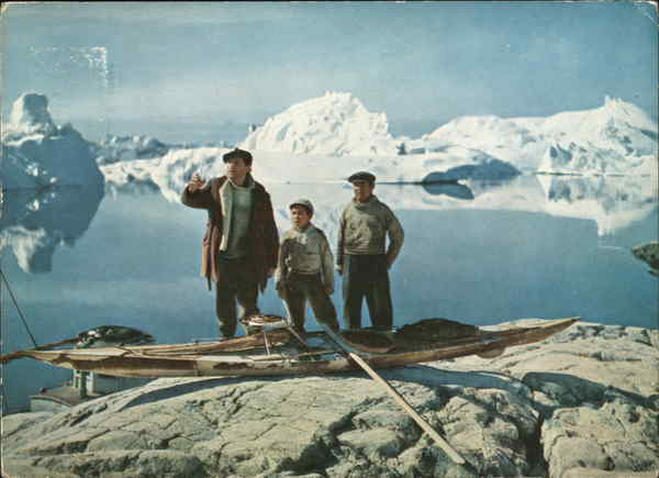 Dear Doctor Abbott Native Sealers, picture from the film Qivitoq Greenland