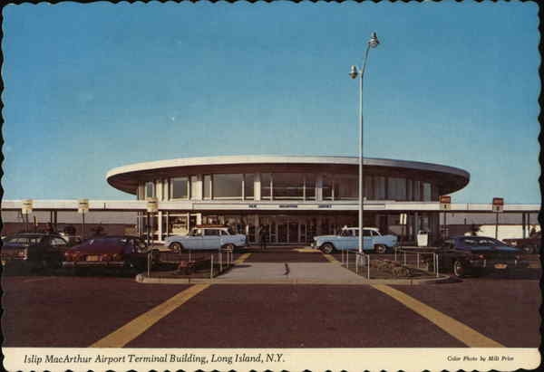 Islip MacArthur Airport Terminal Building Long Island New York