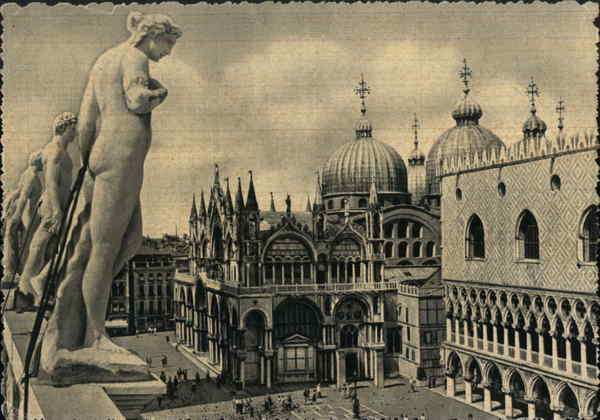 San Marco Palazzo Ducale, St. Mark's Square Venice Italy